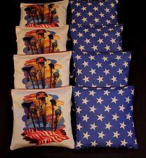 HONOR AMERICAN HEROES MEMORIAL MILITARY ACA Regulation Cornhole Bean Bags B145