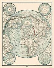 Old World Map - Rathbun 1893 - 23 x 28.98