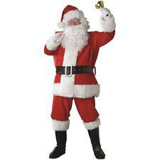 Santa Claus Costume Adult Suit Christmas Outfit Fancy Dress
