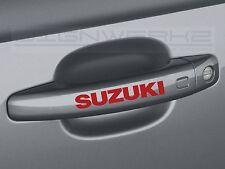 Suzuki Door Handle Decal Sticker emblem kizashi vitara esteem xl7 - Set of 4
