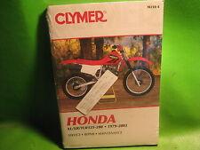 HONDA XL / XR / TLR 125-200 1979-03 CLYMER SERVICE MANUAL BOOK M3184