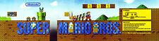 Nintendo Vs Super Mario Brothers Arcade Marquee For Header/Backlit Sign