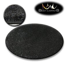 Tapis PETIT PRIX ROND POILU 5cm noir haute qualité NICE en Touche Tapis beaucoup