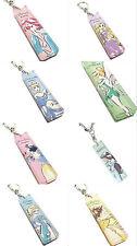 Disney Japan Princess Watercolor Acrylic Keychain Keyring Charm Tangled Frozeno
