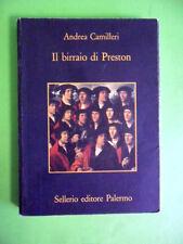 CAMILLERI.IL BIRRAIO DI PRESTON.SELLERIO EDITORE.1998