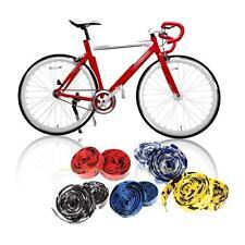 1 Pair Road Bike Bicycle Handlebar Bar Grip Wrap Ribbon Tape + 2 Bar Plugs Best