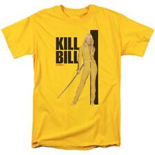 Kill Bill Yellow Suit Poster Adult T Shirt