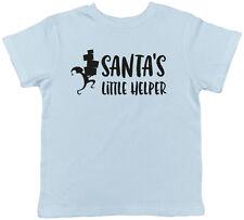 Santa's Little Helper Elf Christmas Xmas Childrens Kids Boys Girls T-Shirt