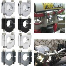 Handlebar Bar Risers Clamps For Kawasaki KLE500 KLR250 KLR650 KLX250S KLX400SR
