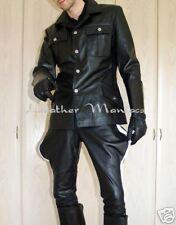 Uniformjacke Uniform Lederhemd Lederjacke Lederuniform