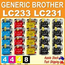 4x 6x 12x Generic ink for LC231 LC233 XL DCP-J4120DW MFC-J4620DW J5320DW J5720DW