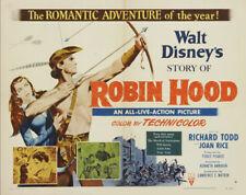 Story of Robin Hood Richard Todd movie poster #11