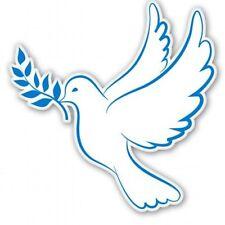 Peace Dove Car Vinyl Sticker - SELECT SIZE
