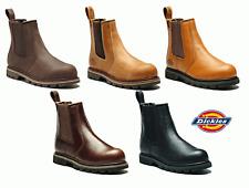 Dickies Fife Sicurezza Dealer Boot in pelle punta in acciaio LAVORO WORKWEAR fd9214