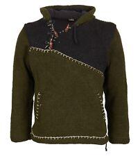 Monospalla Lavorazione a Maglia Pullover nel Medioevo-stlye Hippie Pullover