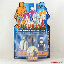 Futurama The I-Men Collection Professor Farnsworth & URL 2 figure pack Toynami