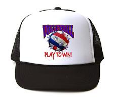 836fad6f0d5 Trucker Hat Cap Foam Mesh Volleyball Sport Spike Play To Win