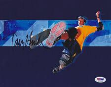 Tony Hawk SIGNED 8x10 Photo X Games Skateboarding PSA/DNA AUTOGRAPHED