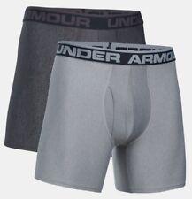 """Under Armour Boxershorts 6"""" Unterwäsch Boxerjock 2er Pack Short 1282508-092"""