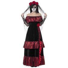 Dia de Los Muertos Costume Adult Sugar Skull Outfit Day of The Dead Fancy Dress