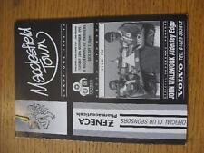 28/11/1995 V MACCLESFIELD TOWN KIDDERMINSTER HARRIES [Spalding COPPA]. nessuna evidente