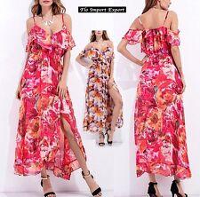 Vestito Lungo Casual Copricostume Donna Woman Cover Up Maxi Dress 110261 -- 2