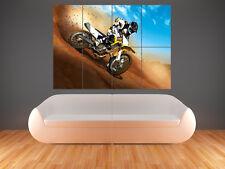 Motocross vélo mur photo poster géant énorme