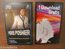 2 Figurine Esselunga Starzone Nuove MIKE POSNER 70 + 1 download gratuito canzone