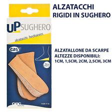 ALZATACCHI ALZATALLONI DA SCARPE RIGIDI IN SUGHERO ALTEZZE DA 1CM A 3CM! NEW