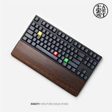 Original Solid Wood Cut Hand Polished Wrist Rest Dock For Mechanical Keyboard