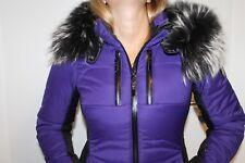 SPORTALM Kitzbühel orb-sp FEMMES SKI veste mauve noir bleu avec vraie fourrure