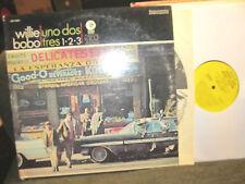 Willie Bobo Uno Dos Tres Latin boogaloo yellow DJ MGM '66 PROMO cubanjaz lp ster