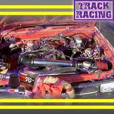 1989 1990 1991-1995 TOYOTA PICKUP 4RUNNER 2.4L AIR INTAKE KIT+K&N Black Red