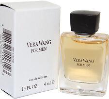 VERA WANG MINI 0.13 OZ EDT SPLASH FOR MEN NEW IN A BOX BY VERA WANG