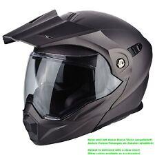 SCORPION adx-1 Solid Casco Moto tirare ENDURO - ANTRACITE OPACO