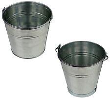 Eimer Zinkeimer Blecheimer verzinkt Wassereimer Dekoeimer 5-12 Liter Metalleimer