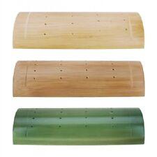 🌟 Bamboo Wood Half Pipe Sushi Skewer Holder 🌟