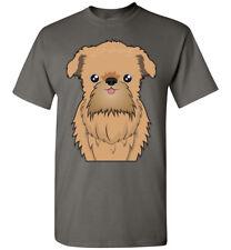 Brussels Griffon Dog Cartoon T-Shirt Tee - Men Women Youth Tank Long Sleeve