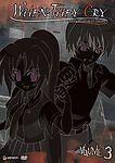 When They Cry: Higurashi no Naku Koroni - Vol. 3 (DVD, 2007) RARE OOP ANIME