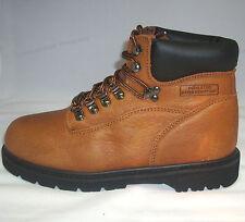 NIB Men's Oily Leather Sierra Waterproof Hiker Work Boot Shoes Brown Sizes:7-15