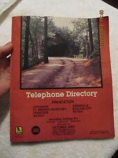 1985 Telephone Book Princeton IN Cynthiana Francisco Patoka Owensville Haubstadt
