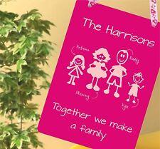 Mothers Day Gifts Nanny Nana Nan Granny Gran Keepsake together we make a family