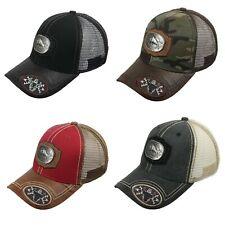 BULL Baseball Cap Animal Farm Mesh Trucker Snapback Cowboy Hip Hop Dad Hat  Caps 9513701ca0a9