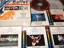 BALLET  HIGHLIGHTS 5 cd   BOXSET AT THE BOLSHOI Excellent Condition