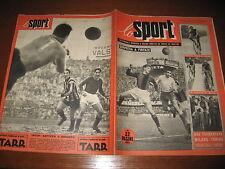 SPORT ILLUSTRATO 1954/11 COLETTO INTER ROMA ALBANI GHIGGIA LORENZI BOLOGNA JUVE