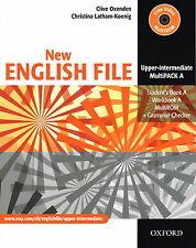 Oxford NEW ENGLISH FILE Upper-Intermediate MultiPACK A Files 1-3 @NEW@