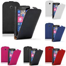 Schutz Hülle für Nokia Lumia 630/ 630 3G/ 635/ 638 Eingabestift Handy Flip Case