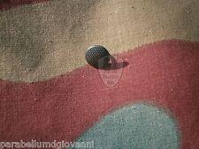Bottone cappello tedesco, feldmutze, feldgrau, blaugrau, german field cap button