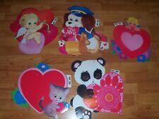 Vintage Decoration Valentines Diecut Cutouts HMS #103 to #108 U Pick NOT a LOT