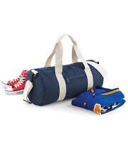 BagBase Original Barrel Bag große holdhall Sports Gym School Travel Farben BG14